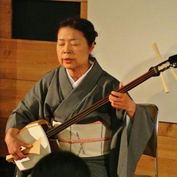 H30年7月21日(土)瞽女唄演奏会を開催