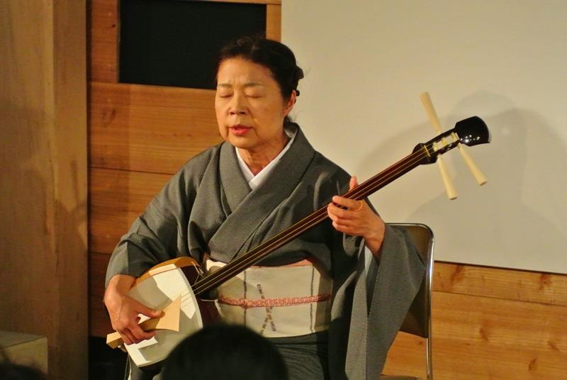 2017年10月1日(日)横川恵子 瞽女唄演奏会